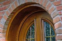 Aubers plein cintre avec tapées porte bois