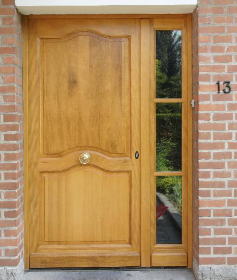 Porte Dentrée Bois PVC Aluminium Blindée Pose Sur Lille - Porte d entrée avec tierce