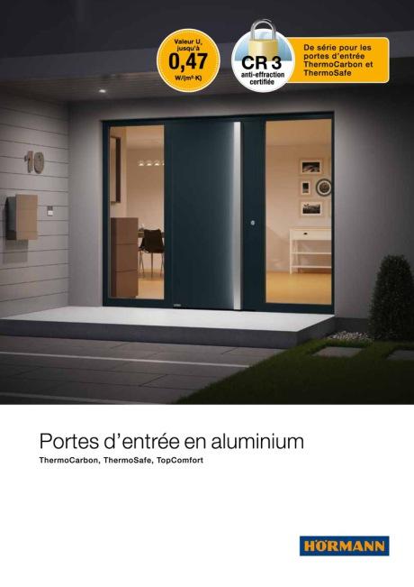 Porte aluminium Hormann
