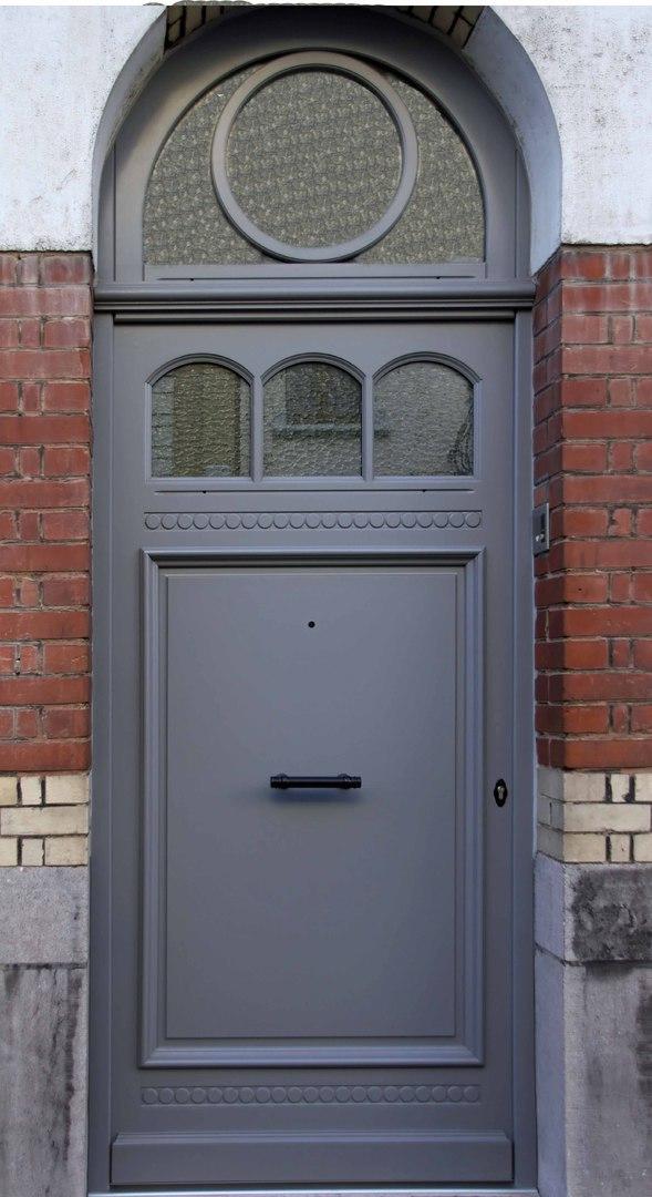Porte DEntre Bois Pvc Aluminium Blinde Pose Sur Lille